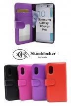 Skimblocker Lommebok-etui Samsung Galaxy XCover Pro (G715F/DS)