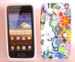 TPU Designcover Samsung Galaxy S Advance