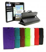 Crazy Horse Wallet Huawei Y6 Pro (TIT-L01)