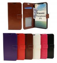 Crazy Horse Wallet Xiaomi Pocophone F1