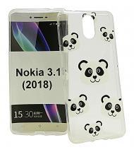 TPU Designdeksel Nokia 3.1 (2018)