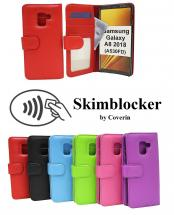 Skimblocker Lommebok-etui Samsung Galaxy A8 2018 (A530FD)