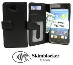 Skimblocker Lommebok-etui Huawei Y6 Pro (TIT-L01)