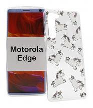 TPU Designdeksel Motorola Moto Edge