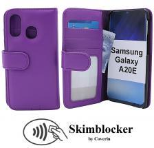 Skimblocker Lommebok-etui Samsung Galaxy A20e (A202F/DS)