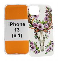 TPU Designdeksel iPhone 13 (6.1)