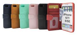Zipper Standcase Wallet iPhone 7/8/SE 2nd Gen.