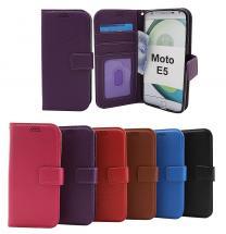 New Standcase Wallet Motorola Moto E5 / Moto E (5th gen)