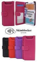 Skimblocker Lommebok-etui Samsung Galaxy A80 (A805F/DS)