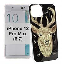 TPU Designdeksel iPhone 12 Pro Max (6.7)