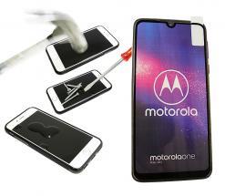 Full Frame Skjermbeskyttelse av glass Motorola One Macro
