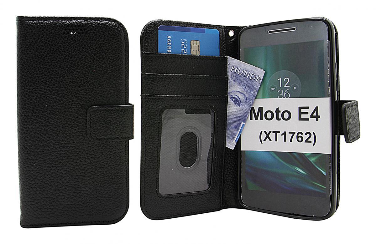 New Standcase Wallet Moto E4 / Moto E (4th gen) (XT1762)