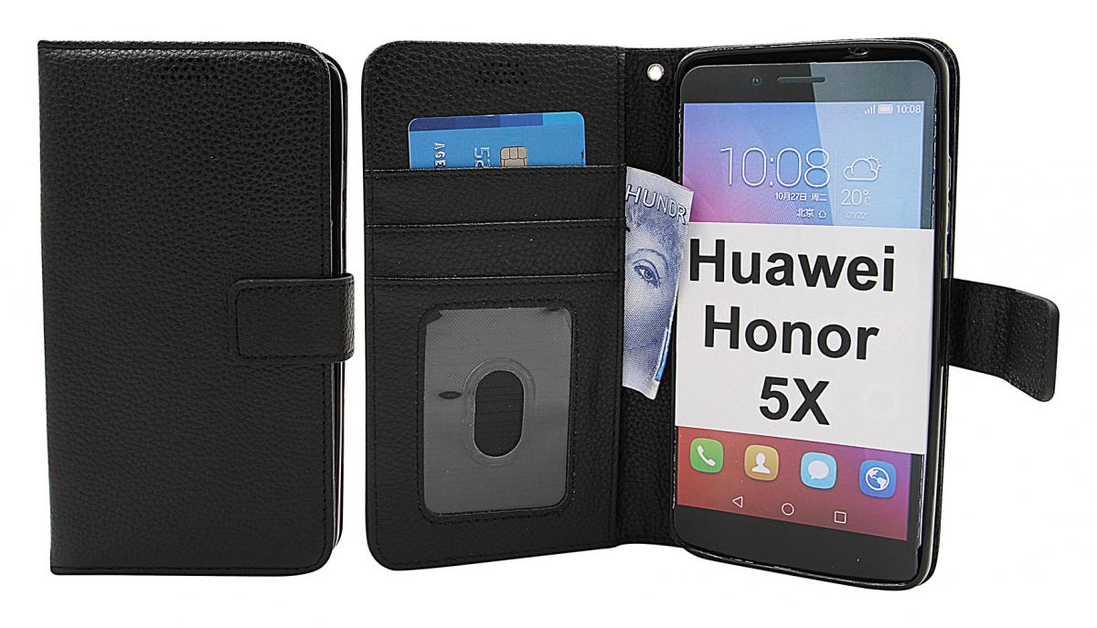 New Standcase Wallet Huawei Honor 5X
