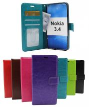 Crazy Horse Wallet Nokia 3.4