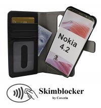Skimblocker Magnet Wallet Nokia 4.2