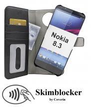 Skimblocker Magnet Wallet Nokia 8.3