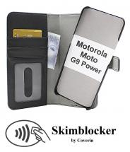 Skimblocker Magnet Wallet Motorola Moto G9 Power