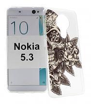 TPU Designdeksel Nokia 5.3