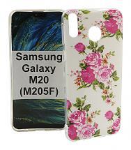 TPU Designdeksel Samsung Galaxy M20 (M205F)