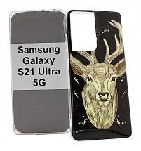 TPU Designdeksel Samsung Galaxy S21 Ultra 5G (G998B)