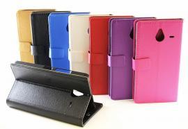 Standcase wallet Microsoft Lumia 640 XL