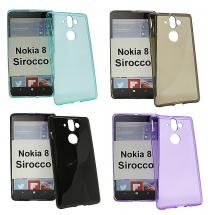 TPU-deksel for Nokia 8 Sirocco