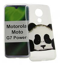 TPU Designdeksel Motorola Moto G7 Power