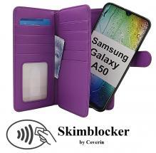 Skimblocker XL Magnet Wallet Samsung Galaxy A50 (A505FN/DS)