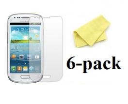 6-pakning Skjermbeskyttelse Samsung Galaxy S3 Mini