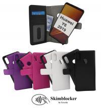 Skimblocker Magnet Wallet Huawei Y6 2019