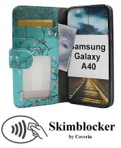 Skimblocker Designwallet Samsung Galaxy A40 (A405FN/DS)