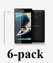 Sony Xperia ZR Skærmbeskyttelse (6 stk.) (C5503,M36h)