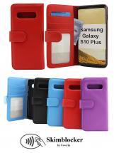 Skimblocker Lommebok-etui Samsung Galaxy S10+ (G975F)