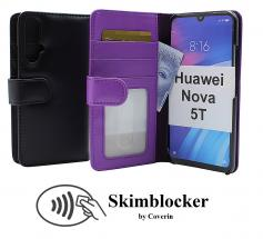 Skimblocker Lommebok-etui Huawei Nova 5T