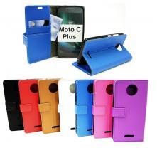 Standcase Wallet Moto C Plus