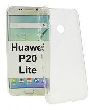 Ultra Thin TPU Deksel Huawei P20 Lite