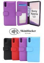 Skimblocker Lommebok-etui Sony Xperia L3