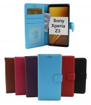New Standcase Wallet Sony Xperia Z3 (D6603)