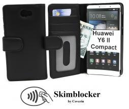 Skimblocker Lommebok-etui Huawei Y6 II Compact (LYO-L21)