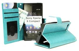 Crazy Horse Wallet Sony Xperia X Compact (F5321)