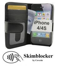 Skimblocker Lommebok-etui iPhone 4/4S