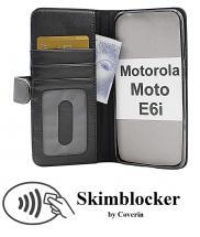 Skimblocker Lommebok-etui Motorola Moto E6i