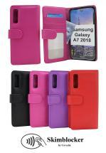 Skimblocker Lommebok-etui Samsung Galaxy A7 2018 (A750FN/DS)