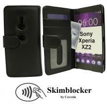 Skimblocker Lommebok-etui Sony Xperia XZ2 (H8266)