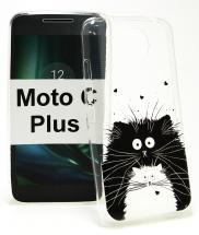 TPU Designdeksel Moto C Plus