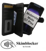 Skimblocker XL Magnet Wallet Motorola Moto G7 Play