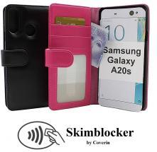 Skimblocker Lommebok-etui Samsung Galaxy A20s (A207F/DS)