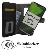 Skimblocker Magnet Wallet Motorola One Zoom