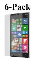 6-pakning Skjermbeskyttelse Nokia Lumia 830