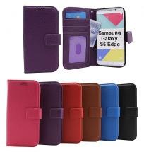 New Standcase Wallet Samsung Galaxy S6 Edge (G925F)